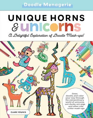 Create & Color: Unique Horns & Unicorns