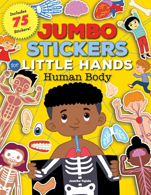Jumbo Stickers for Little Hands: Human Body