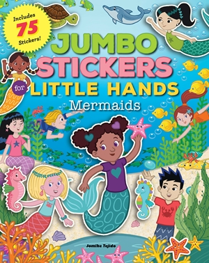 Jumbo Stickers for Little Hands: Mermaids