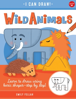 Wild Animals Learn to draw using basic shapes--step by step!