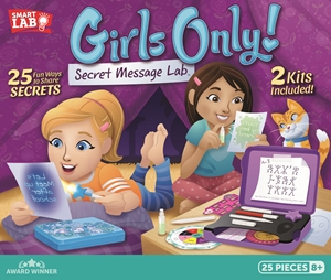 Girls Only! Secret Message Lab