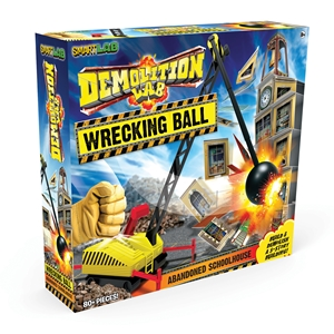 Demolition Lab: Wrecking Ball