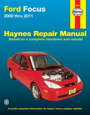 Ford Focus 2000 thru 2011 Haynes Repair Manual