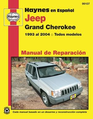 Haynes en Espanol Jeep Grand Cherokee