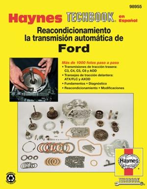 Reacondicionamiento la transmision automatica de Ford