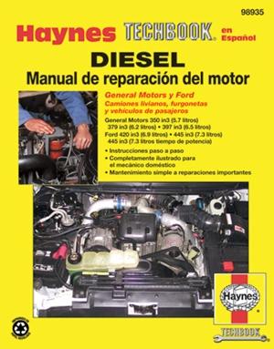 Diesel Manual de Reparaci=n del Motor