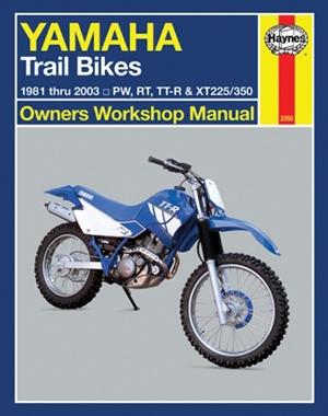 Yamaha Trail Bikes 1981 thru 2003