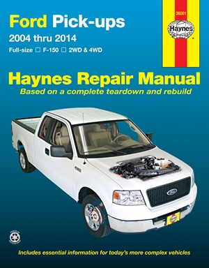 Ford F-150 2WD & 4WD Pick-ups (04-14) Haynes Repair Manual