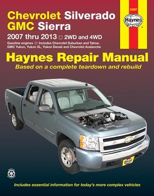 Chevrolet Silverado & GMC Sierra 2007 thru 2013