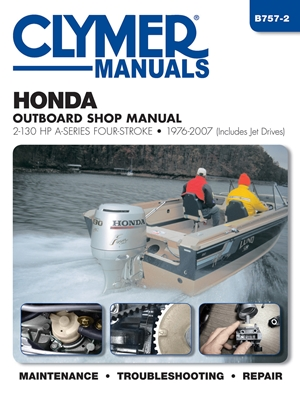 Honda Outboard Shop Manual