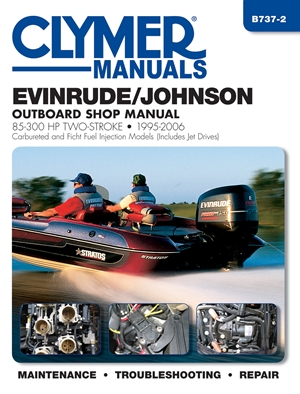 Evinrude/Johnson 85-300 HP Two-Stroke 1995-2006