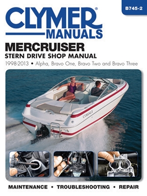 MerCruiser Stern Drive Shop Manual 1998-2013