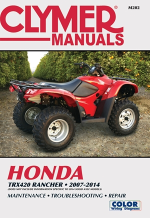 Honda TRX420 Rancher 2007-2014