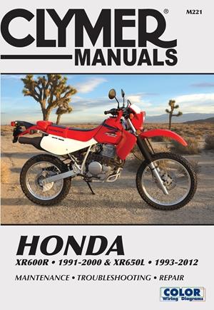 Honda XR600R 1991-2000 & XR650L 1993-2012