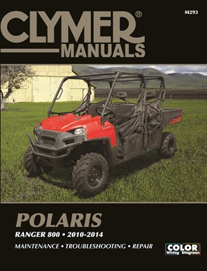 Clymer Polaris Ranger 800, 2010-2014