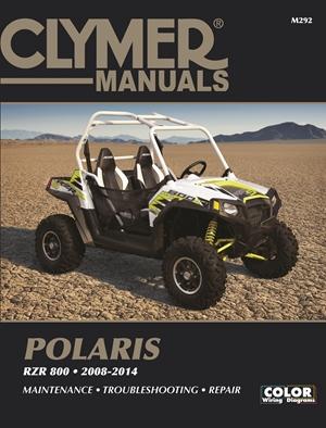 Clymer Polaris RZR 800  2008-2014