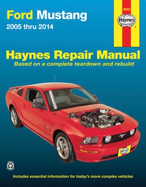 Ford Mustang 2005 thru 2014 Haynes Repair Manual
