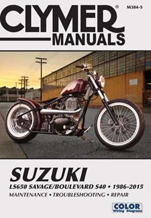 Suzuki LS650 Savage/Boulevard S40 1986-2015