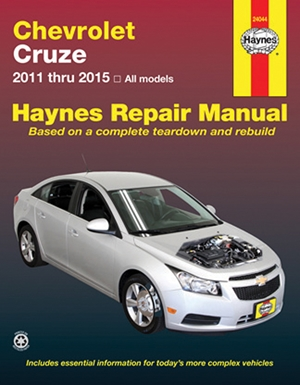 Chevrolet Cruze 2011 thru 2015 All models