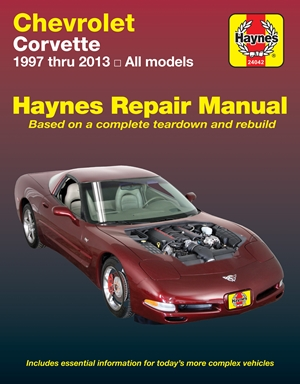 Chevrolet Corvette 1997 thru 2013 Haynes Repair Manual