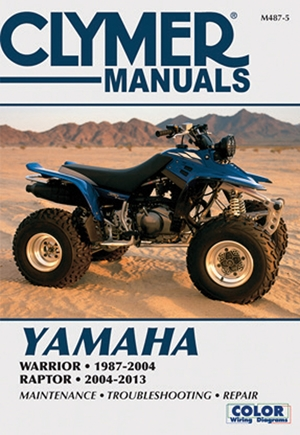 Yamaha Warrior 1987-2004 & Raptor 2004-2013