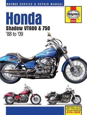 Honda Shadow VT600 & 750 '88 to '14