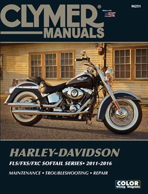 Harley-Davidson FLS/FXS/FXC Softail Series 2011-2016