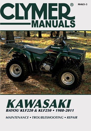 Kawasaki Bayou KLF220 & KLF250 1988-2011