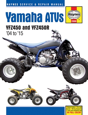 Yamaha ATVs '04 to '15