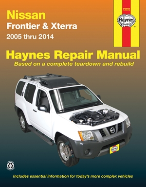 Nissan Frontier & Xterra 2005 thru 2014 Haynes Repair Manual