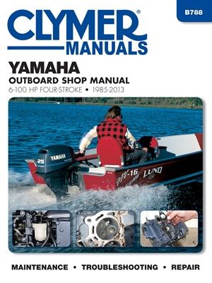 Yamaha 4-Stroke OB 6-100 HP, 1985-2013