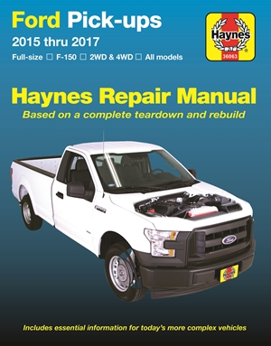 Ford F-150 Pick-ups, 2015-'17 Haynes Repair Manual