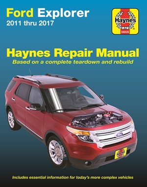 Ford Explorer 2011-2017 Haynes Repair Manual