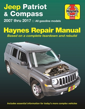 Jeep Patriot & Compass, (07-17) Haynes Repair Manual