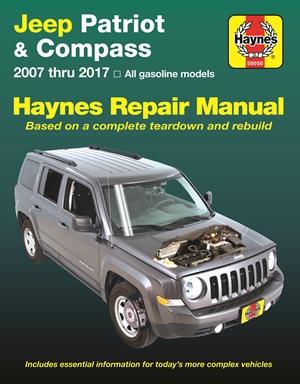 Jeep Patriot & Compass, 2007 thru 2017 Haynes Repair Manual