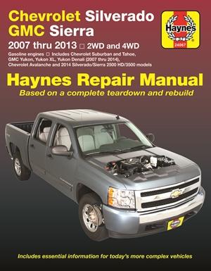 Chevrolet Silverado & GMC Sierra/Sierra Denali 1500 (07-13), 2500 HD & 3500 (07-14) Avalanche/Suburban/Tahoe/Yukon/XL/Denali (07014) Haynes Repair Manual