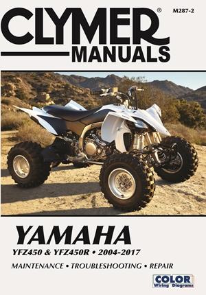 Yamaha YFZ450 & YFZ450R 2004-2017