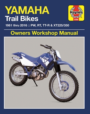 Yamaha Trail Bikes, 1981-2016 Haynes Repair Manual