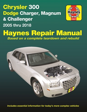 Chrysler 300, Dodge Charger, Magnum & Challenger from 2005-2018 Haynes Repair Manual