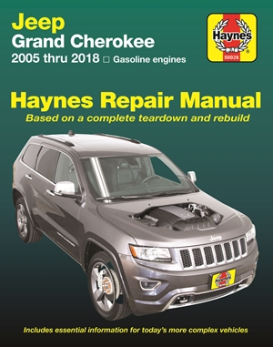 Jeep Grand Cherokee from 2005-2018 Haynes Repair Manual