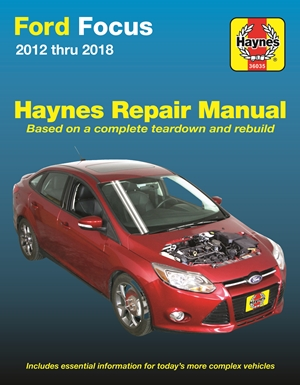 Ford Focus Haynes Repair Manual