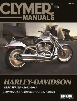 Harley-Davidson VRSC Series Clymer Manual