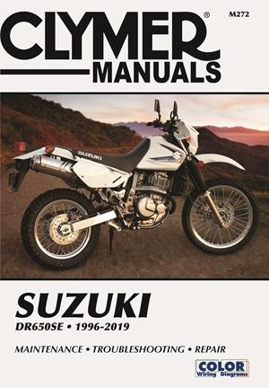 Suzuki DR650SE Clymer Manual