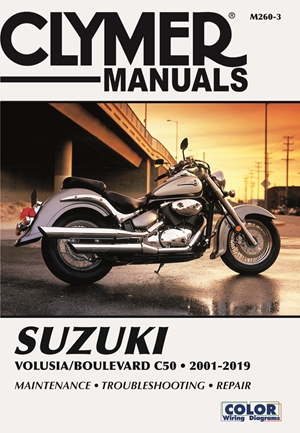 Suzuki Volusia/Boulevard C50 (2001-2019) Clymer Repair Manual