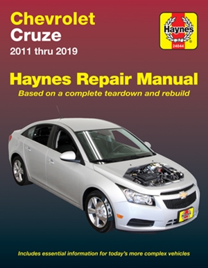 Chevrolet Cruze Haynes Repair Manual
