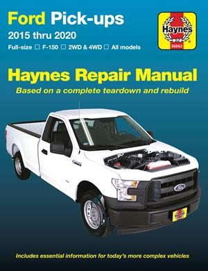 Ford Pick-ups 2015 thru 2020