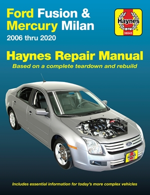 Ford Fusion and Mercury Milan Haynes Repair Manual