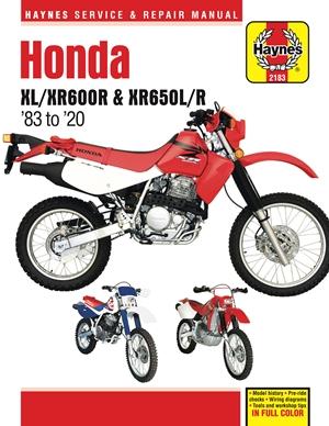 Honda XL/XR600R & XR650L/R