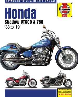 Honda Shadow VT600 & 750 - '88 to '19