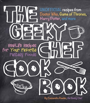 Cover of the Geeky Chef 9781631060496
